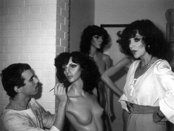 Rootstein mannequin Joan Collins.