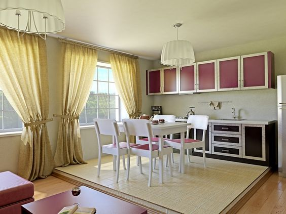 What are the different types of curtains and blinds