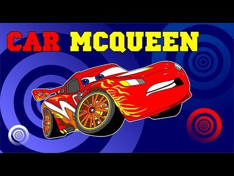 Tutorial Cara Menjiplak Car Mcqueen Cartoon Youtube Belajar Menggambar Kartun Lucu