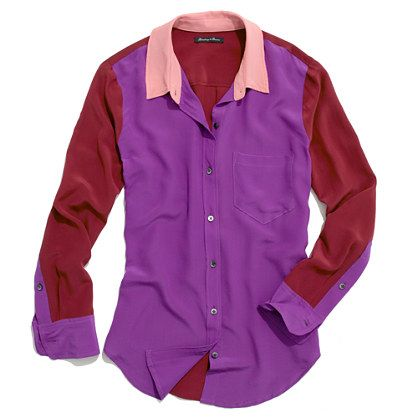 colorblock boyshirt
