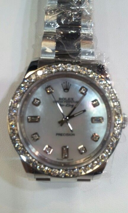 Diamond Rolex pre owned available @pashajewelers