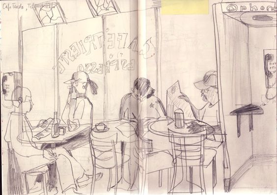 Jill Calder Sketchbook