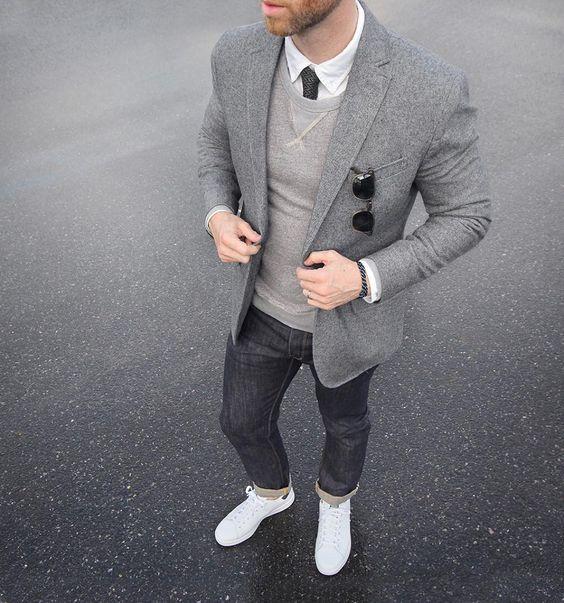 estilo de moda venta caliente online 100% originales Moda Masculina: Cómo sacarle provecho a un blazer gris | Icon