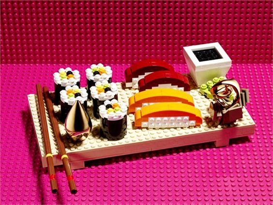 LEGO em: joalheria gourmet