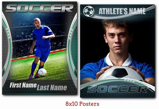 Soccer Player Cards Template New New Series Of Soccer Templates Baseball Card Template Trading Card Template Player Card
