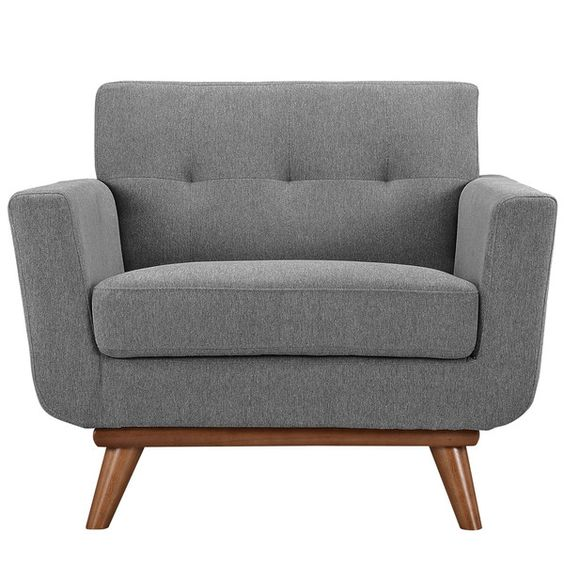 Modway Employ Upholstered Arm Chair & Reviews | Wayfair