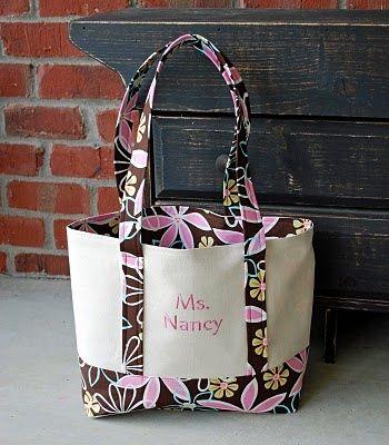 ginabean handmade: Tote Bag Tutorial