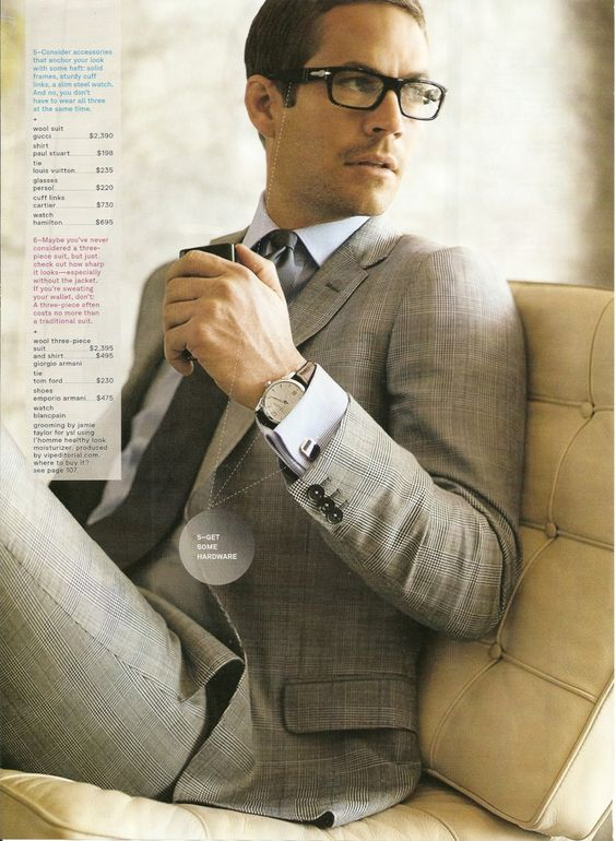 Well 'ello handsome...: Men Style Suits, Men S Style, Boys Fashion, Grey Suits, Men In Suits, Persol Paulwalker, Nice Suits, Paul Walker, Business Suits For Men