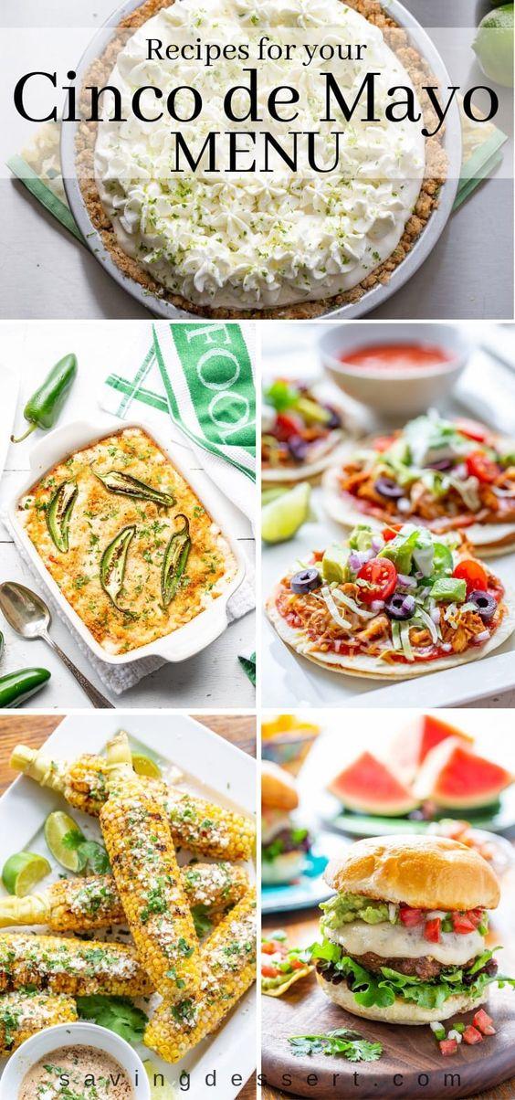 Recipes for your Cinco de Mayo Menu - Saving Room for Dessert
