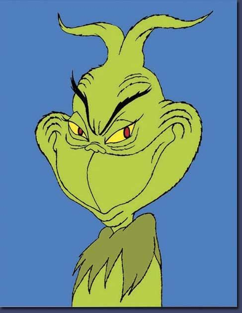 Grinch Smiling : grinch, smiling, Desiree, Smith, Holiday, Grinch,, Grinch, Christmas,, Cartoon