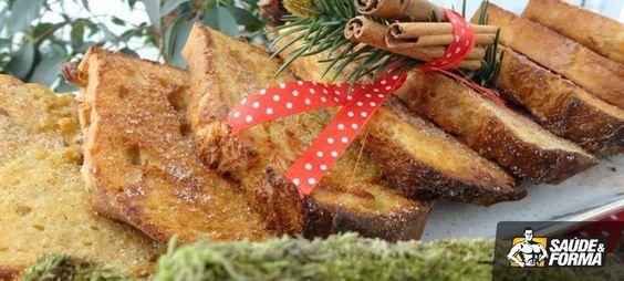 Rabanada fit: Ingredientes: 3 pães franceses dormidos 300 ml de leite 3 colheres de sopa de leite em pó desnatado 2 colheres de sopa de whey de baunilha 1 pitada de canela 2 cs de adoçante em pó (sempre uso tal e qual) 1 colher de chá de essência de baunilha 1 ovo