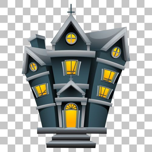 Haunted House Png Image With Transparent Background Png Images Stock Images Free Transparent Background