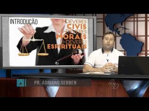 Deveres Civis, Morais e Espirituais – AD Criciúma - EBDWeb