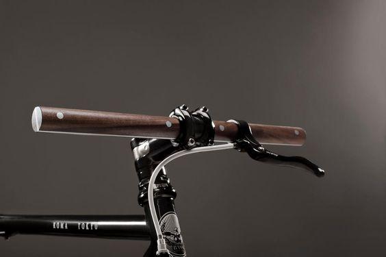 Beautiful wooden handlebars