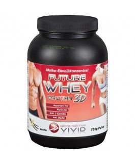 WHEY Proteinpulver Future 3D - VANILLE  www.feelgood-shop.com