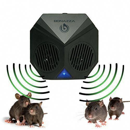 Bonazza Mice Repellent Plug In Ultrasonic Pest Repeller Best For Garages Attics And Basements Electronic Pests Control Produc Mice Repellent Rat Repellent Electronic Pest Control