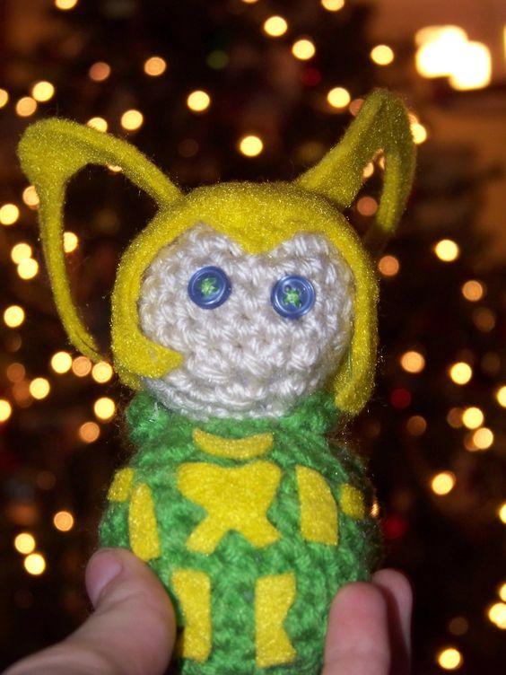Handmade Loki Doll.