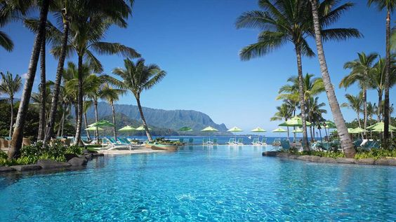 Natalie recommends: St. Regis Princeville.  Private beach, close to Napali Coast and other amazing sights.
