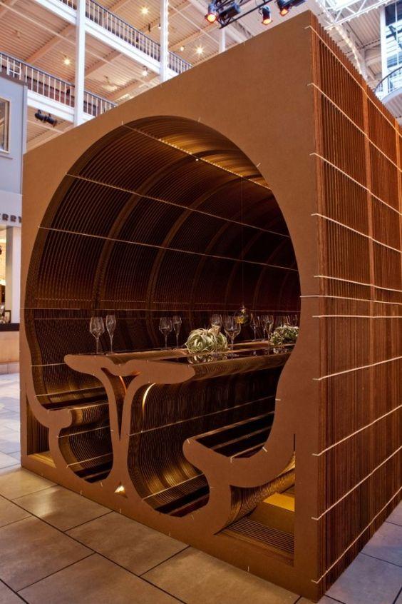 Cardboard architecture: