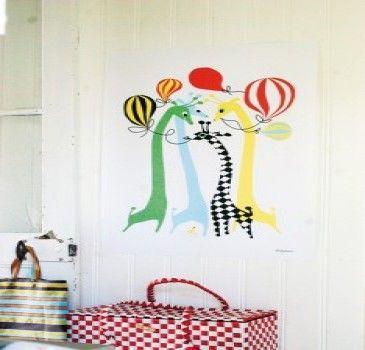 Poster Giraf Little Phant