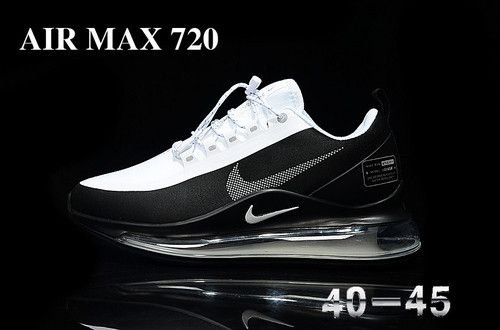 236-White black 40-45 Nike Air Max 720 Run Utility running shoes ...