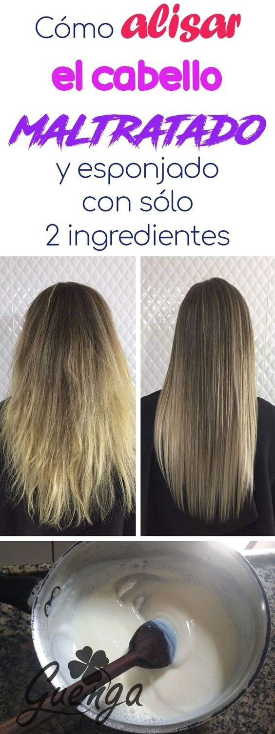 Mascarilla Para Hidratar El Pelo Y Alisado Permanente In 2021 Healthy Hair Beauty Tips For Hair Brittle Hair