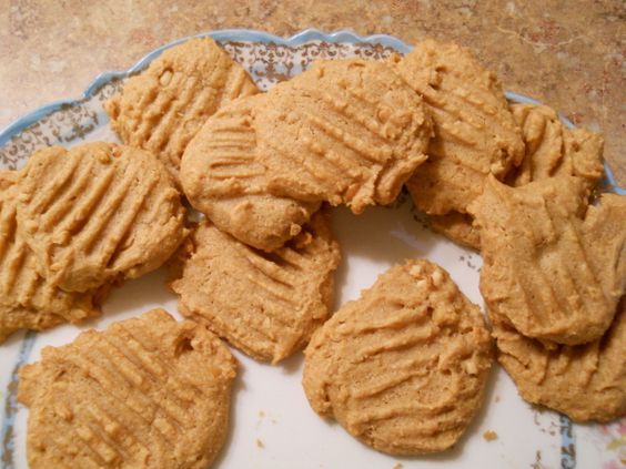 I like these cookies because they are made with honey rather than sugar, so are not as sweet as the typical peanut butter cookie. The use of the honey also results in a softer, rather than crisp cookie.
