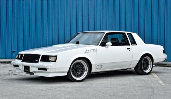 1986 Buick Regal T-Type, I would kill to have this car....