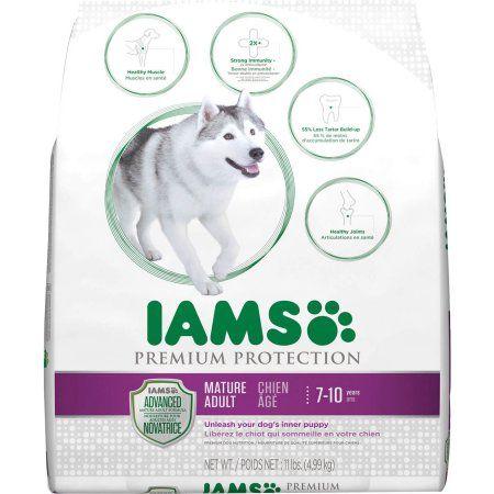 Iams Dog Senior Premium Protect 12 1lb Dry Dog Food Adult Dogs