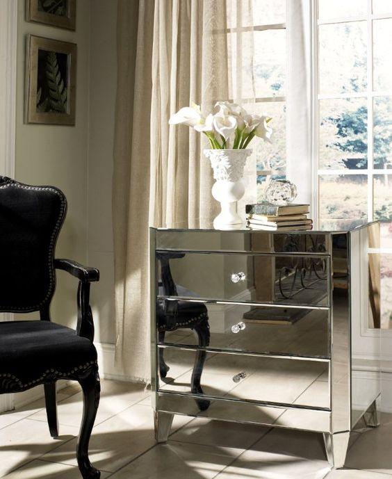 glam furniture interior design home decor furniture dressers bedroom mirrored