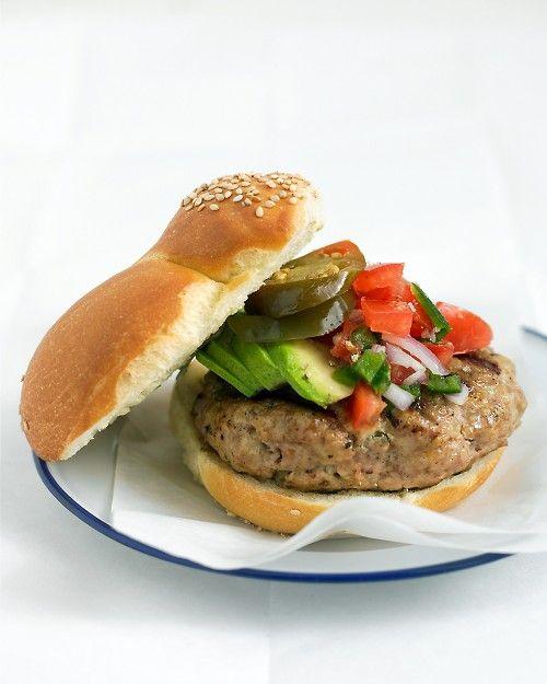 Southwestern Turkey Burgers