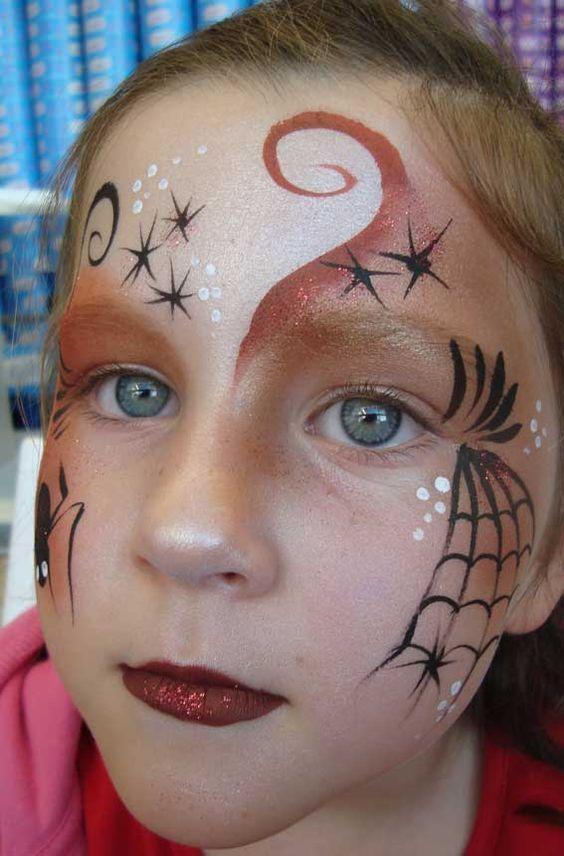 Halloween Schminktipps Kinder Hexe.Diese Super Schonen Karneval Schminkideen Werden Dich Begeistern Hexe Schminken Halloween Schminken Kinder Schmink Ideen