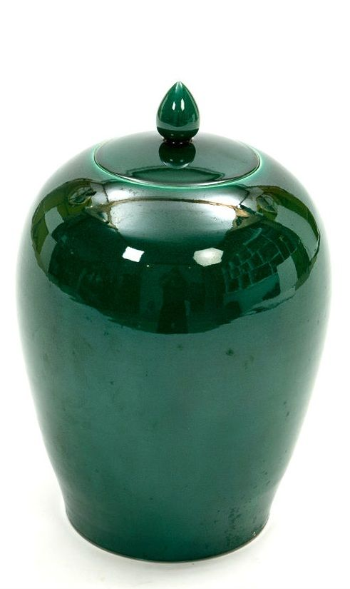 Emerald Green Chinese Porcelain Jar, can't resist the #pantone Emerald Color of 2013
