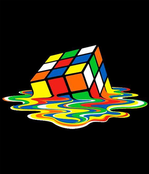 Camiseta The Big bang Theory. Cubo Rubik