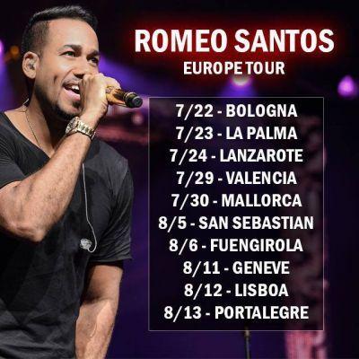 Suspendido el concierto de Romeo Santos en Zaragoza previsto para el 23 de abril en el parking Norte de la Expo, River Sound Festival.