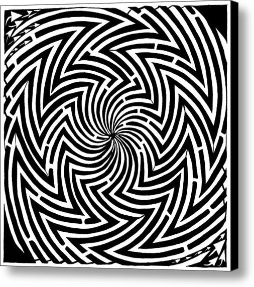 illusion coloring pages for adults - photo#23