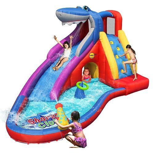 Toys r us aire de jeux gonflable requins club exclu for Toys r us piscine