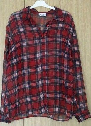 Kaufe meinen Artikel bei #Kleiderkreisel http://www.kleiderkreisel.de/damenmode/blusen/130197782-rot-karierte-bluse