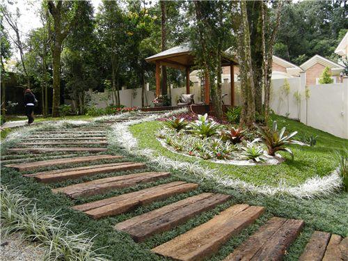 escadas rusticas jardins : escadas rusticas jardins:Dormente de Madeira – Kaska Madeiras Ecológicas