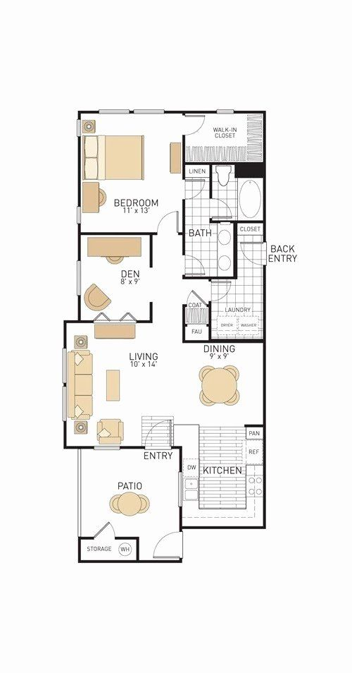 10 X 13 Bedroom Layout Best Of House Design 10 13 With 3 Bedrooms Full Plans Rachmadi Info Bedroom Layouts My House Plans House Construction Plan