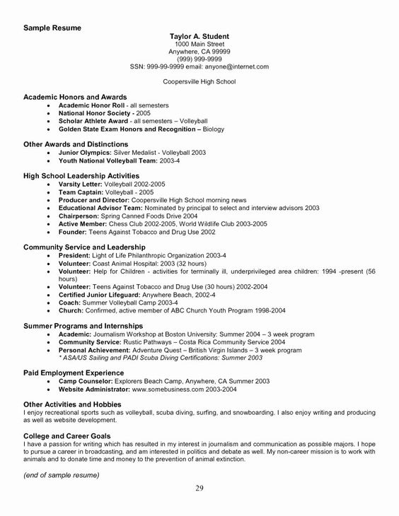 National Honor Society Description Resume Awesome 50 Fresh National Honor Society Resume Example In 2020 National Honor Society Honor Society Good Resume Examples