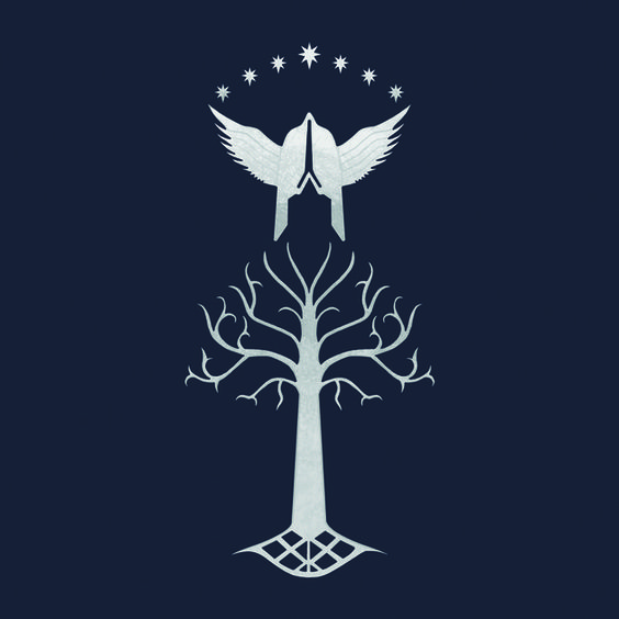 Check out this awesome 'Of+Gondor' design on TeePublic! http://bit.ly/19QFBRi