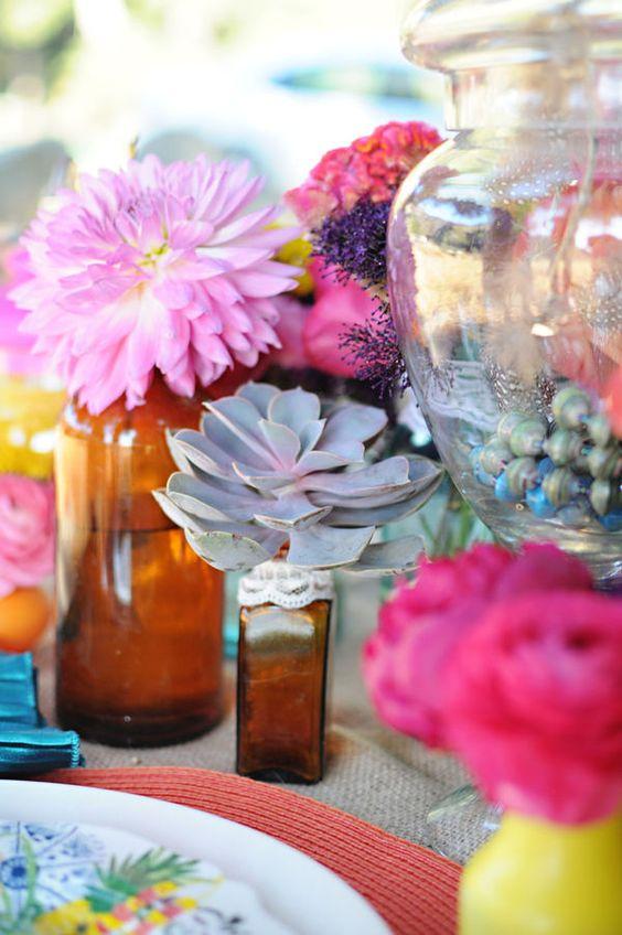 Misc. bottles for decor