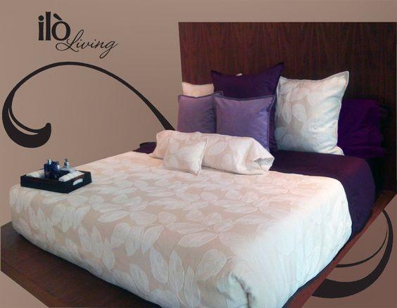 Haz de tu habitación un lugar único y acogedor con Ilò Living… hermosos colores y deliciosas texturas con los que lograras la combinación perfecta para tu hogar!!!