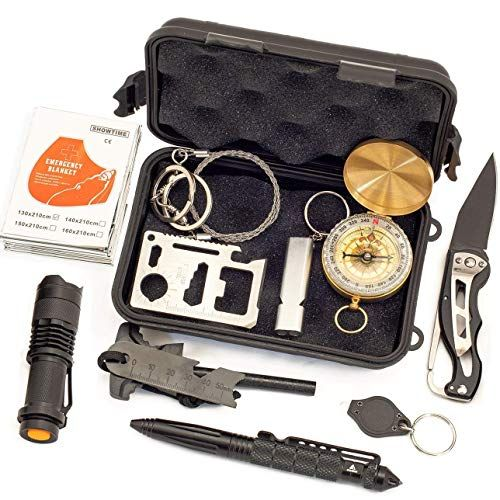 Multi Survival Tools Outdoor Survival Gear Emergency Survival Kits 11-in-1