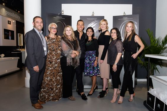 Our 2016 #DXVDesignPanel with DXV's Vice President of Design Jean-Jacques L'Henaff and @modenus Veronika Miller. Susan Jamieson @bridgetbeari, Richard Anuszkiewicz @rta2z, Beth Dotolo and Carolina Gentry @pulpdesigns and Genevieve Ghaleb.