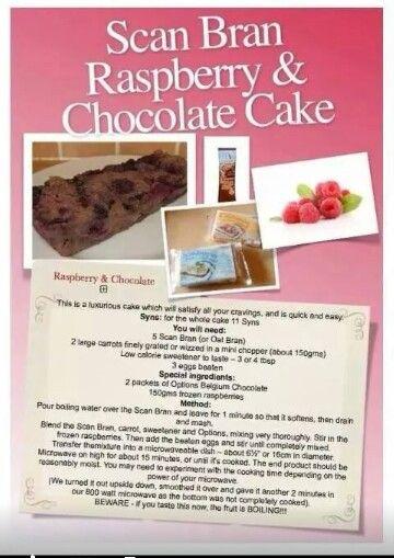 Chocolate Oat Cake Slimming World