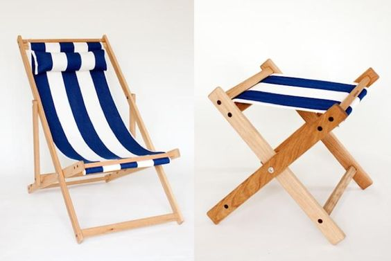 Channeling the Riviera with cabana-inspired stripes.