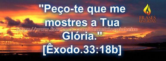 A Glória De Deus.