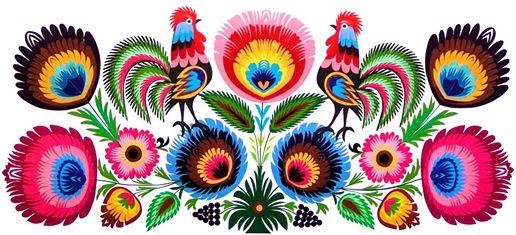 polish folk art: